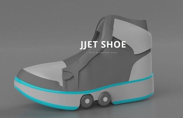 Self-propelled shoe