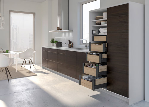 Attraktive Stauraum Erfindungen für kleine Küchen