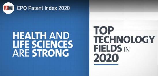 Erfindungen im Gesundheitswesen führen bei europäischen Patentanmeldungen 2020