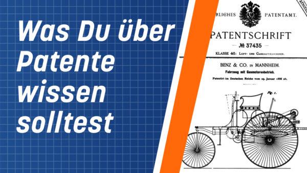 Patent anmelden? Was Du über Patente wissen solltest
